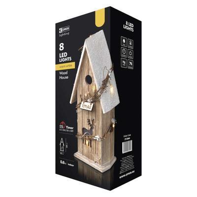 Vánoční dekorativní LED domek s časovačem - 2 - 5