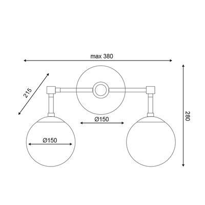 Stropní/nástěnné svítidlo Joint - 6