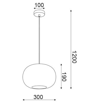 Závěsné svítidlo Colander - 3 - 6