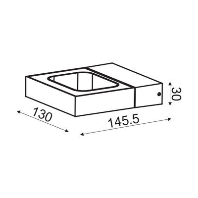 Nástěnné LED svítidlo Grip - 6