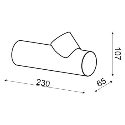 Nástěnné LED svítidlo Pointer - 6