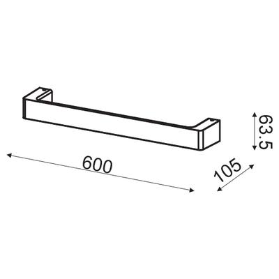Nástěnné LED svítidlo Handle - M - 7