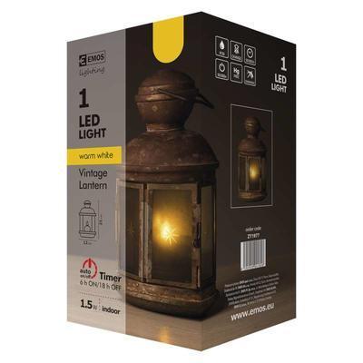Dekorativní LED lucerna s časovačem - 2 - 7